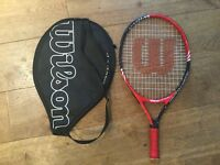 Wilson Junior tennis racket size 21 inch