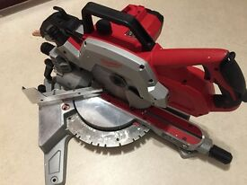 Milwaukee m18 sms216-0 cordless mitre saw 18v bare unit.