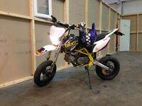 Road legal pitbike 125cc pit bike on road motocross super moto yz Cr kx rm ktm monkey bike