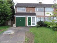 3 Bedroom House to Rent in Oadby Leicester LE2 Newly Refurbished Available NOW