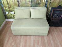 John Lewis Kip Double Sofa Bed in Light Green