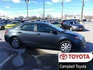 2015 Toyota Corolla LE  7 TO CHOOSE FROM-- LOW KM'S