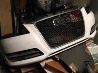 2011/12 Audi A3 front bumper
