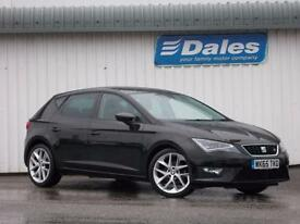 Seat Leon 1.4 Ecotsi 150 FR 5Dr [technology Pack] Hatchback (midnight black) 2015