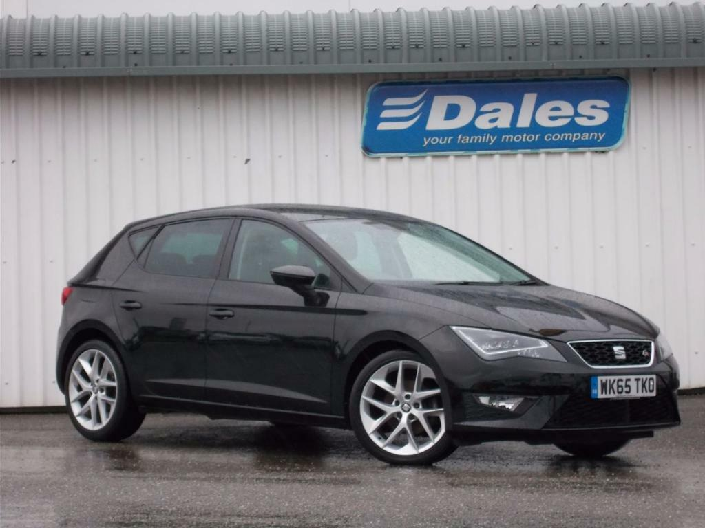 seat leon 1 4 ecotsi 150 fr 5dr technology pack hatchback midnight black 2015 in newquay. Black Bedroom Furniture Sets. Home Design Ideas