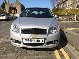 Chevrolet AVEO AUTO Low Mileage Silver Immaculate