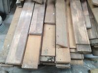 Reclaimed hardwood Maple strip flooring