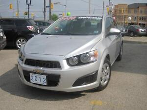 2012 CHEVROLET SONIC LS | Low KM • Like New