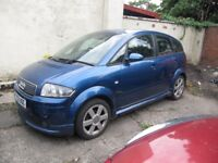 2004 Audi A2 1.6 Fsi Breaking for spares only