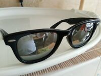 RAY BAN B&L USA 5022 WAYFARER MIRROR USA (GENUINE) , USED, £65, WIMBLEDON
