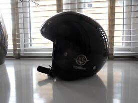 harley davidson open face helmet size large