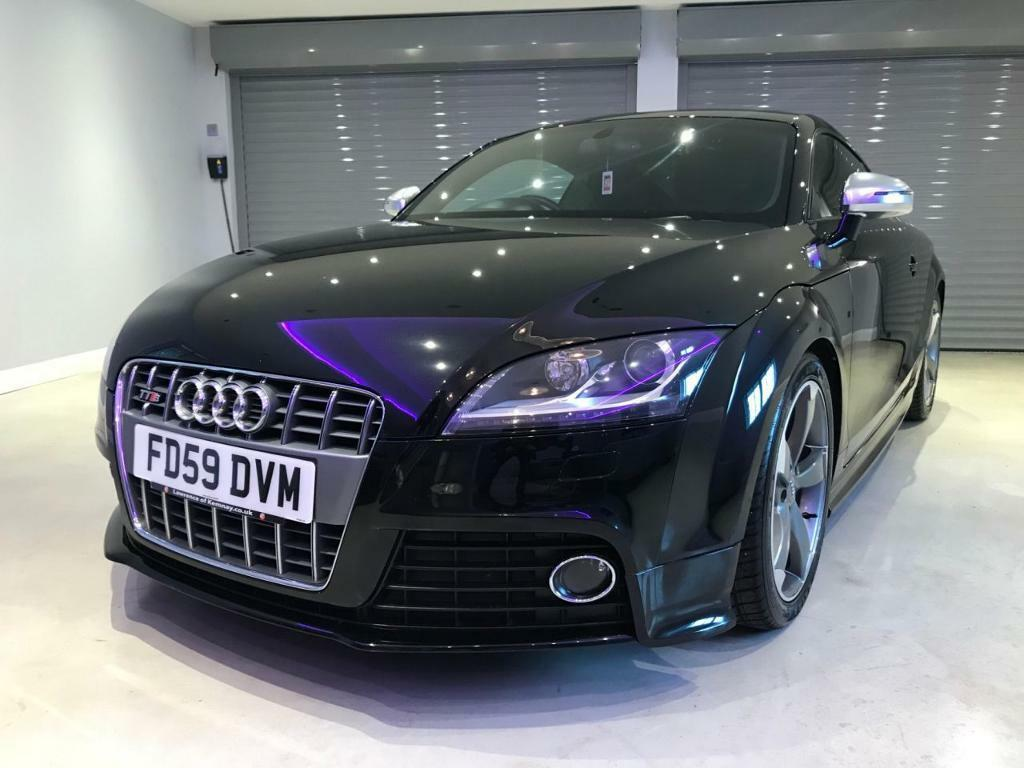 audi tt 2 0 tts tfsi quattro 3d auto 272 bhp free delivery to your door black 2009 in. Black Bedroom Furniture Sets. Home Design Ideas