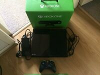 Xbox one 500GB with 9 games