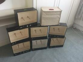 Budgerigar show case and cover