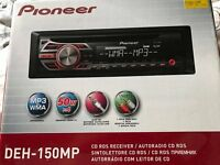 Pioneer CD player and Radio