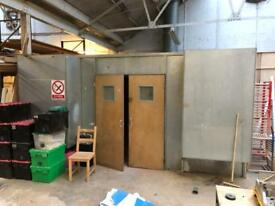 Spray booth 15ft x16ft