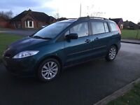07 MAZDA 5 2.0D TS 7 SEATER P/EX WELCOME