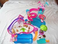 Barbie pets, various dogs, cats, rabbits, play sets and accessories