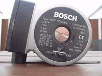 Nearly new Bosch boiler pump