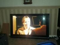 "LG 60"" flat screen TV"