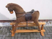 Wooden Rocking Horse by Mamas & Papas