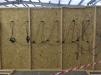 Wood panels for sale! 83 Large panels measuring 122cm x 244cm and 28 smaller panels at 33cm x 244cm
