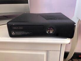 Brilliant Condition Xbox 360 Slim, 2 Controllers and Games
