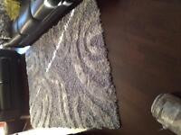 Grey design 5x 8 indoor area rug
