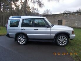 land rover td5 2002 7 seater