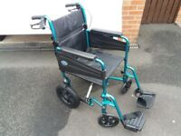 Brand New Wheelchair - (Lightweight, Handlebar Brakes) Days Escape Lite Wheel Chair