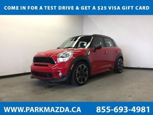 2014 MINI Cooper S Countryman AWD - Bluetooth, Heated/Leather Se