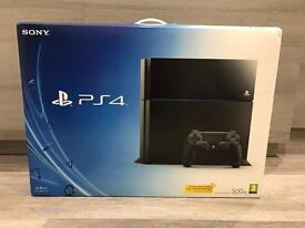 Sony PlayStation (PS4) 500GB in Jet Black