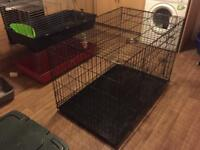 Used extra large dog crate