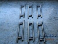 Stainless Steel T Bar Handles x 12