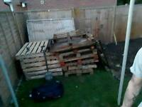Pallets and Panel (All free!)