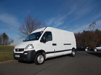 VAUXHALL MOVANO 3500 LWB CDTI DIESEL VAN BRILLIANT WHITE 2008 BARGAIN ONLY 2450 *LOOK* PX/DELIVERY