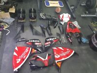 Yamaha r1 2009-2012 fairing parts