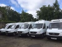 OVERNIGHT Sprinter drivers needed- family courier company - start ASAP!!