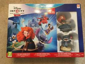 Wii U Disney Infinity 2.0 Toy box combo pack