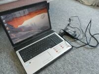 "17"" TOSHIBA L350, DUAL CORE 2 GHZ, 3 GB RAM, 250 GB HDD, AXMINSTER"
