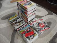 OVER 80 OLD CLASSIC CAR MAGS