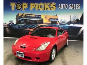 2001 Toyota Celica One Owner, Accident Free, SUPER CLEAN & Certi
