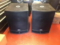 Peavey UL - 118S Bass Bins / Subs / Speakers - ideal for Bands / DJ / Disco