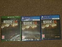Resident Evil 7 Brand new And Sealed