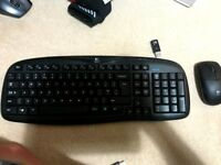 Logitech mk250 mouse and keyboard combo