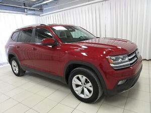 2018 Volkswagen Atlas BEAUTIFUL!!! V6 4MOTION AWD 7PASS SUV w/ B