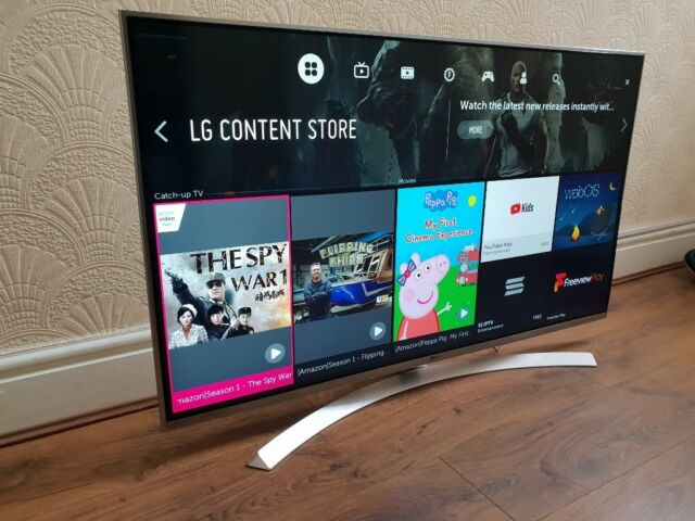 BOXED LG 49-inch SUPER Smart 3D UHD 4K HDR LED TV-49UH850V(TOP OF THE  RANGE)Wifi,Freeview & FREESAT | in Salford, Manchester | Gumtree