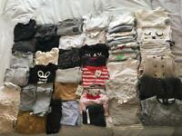 Large boys clothing and shoes bundle 9-12 Months