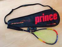 Prince power ring tech ti squash racquet