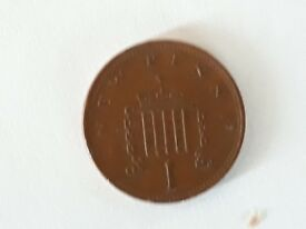 Mint condition 1971new pence 2p plus mint condition for age new penny 1p